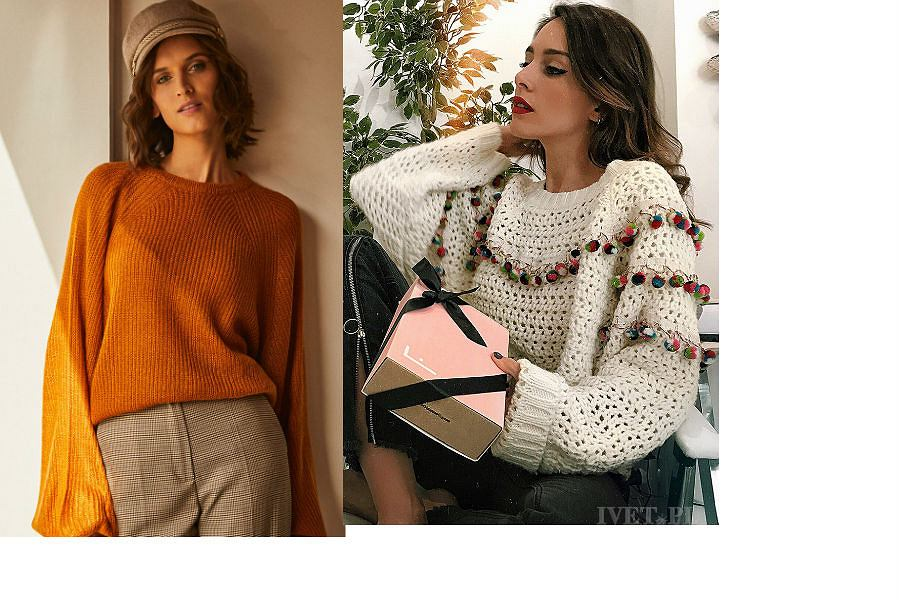 Modne swetry damskie