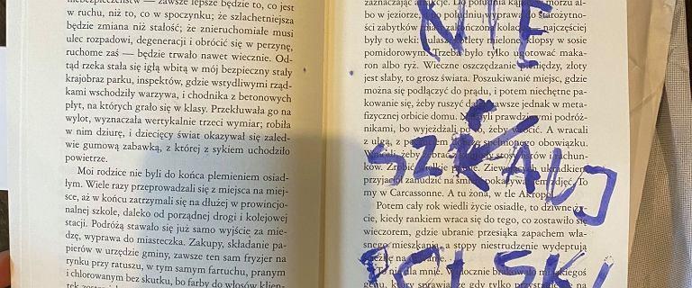 """31 """"Prawdziwych Polaków"""" odesłało książki Olgi Tokarczuk"""