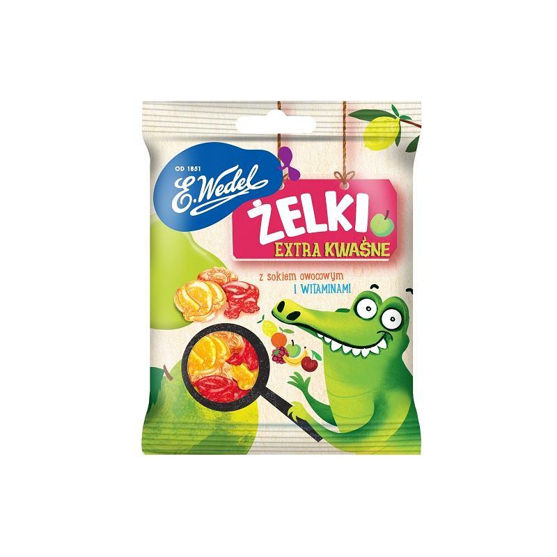E.Wedel Żelki owocowe kwaśne