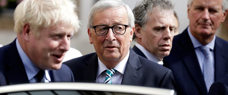 Brexit. Jean-Claude Juncker po raz pierwszy spotkał się z Borisem Johnsonem