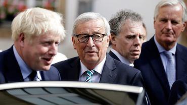 Spotkanie Johnsona i Junckera bez przełomu w sprawie brexitu