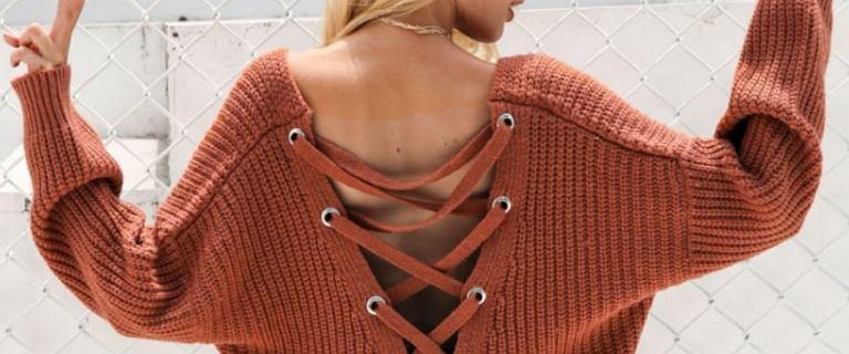 Wiązania, falbany, grube sploty - najpiękniejsze swetry na wiosnę