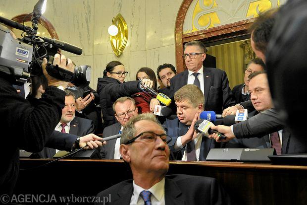 Inauguracyjna sesja sejmiku województwa śląskiego, Wojciech Kałuża i Jakub Chełstowski