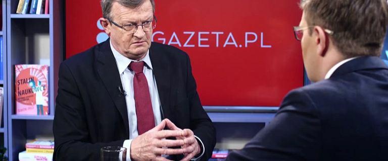 Cymański o Kaczyńskim: mówią o nim 'dyktator', ale pozycję wypracował nie na krwi i zamachu