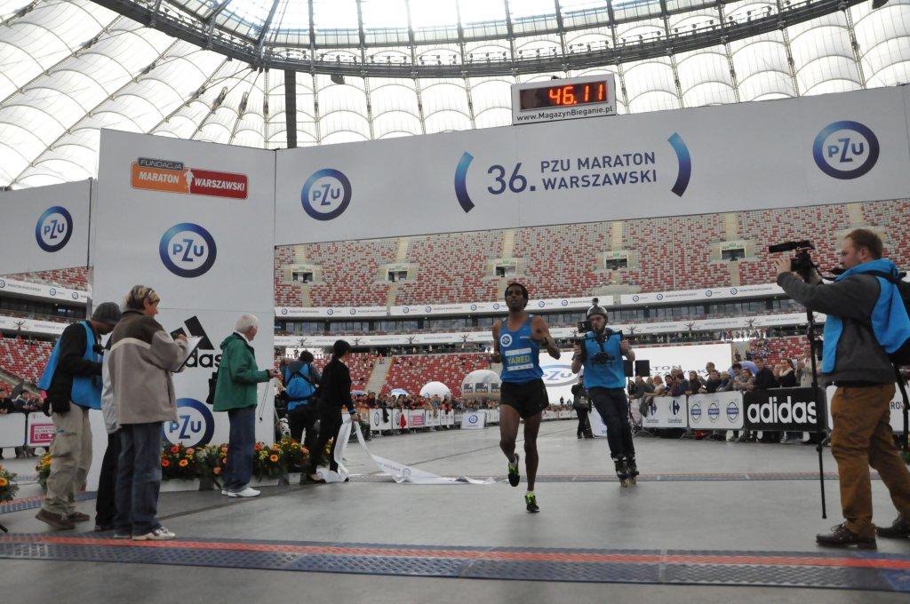 Bieg na Piątkę podczas 36.PZU Maratonu Warszawskiego