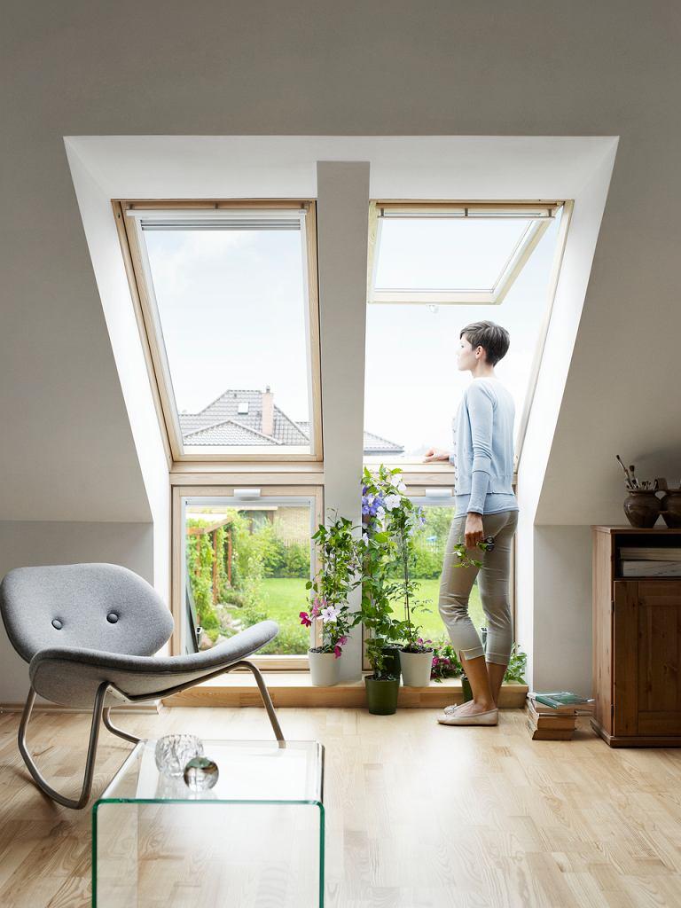 Dopasowanie sposobu otwierania okna do pomieszczenia