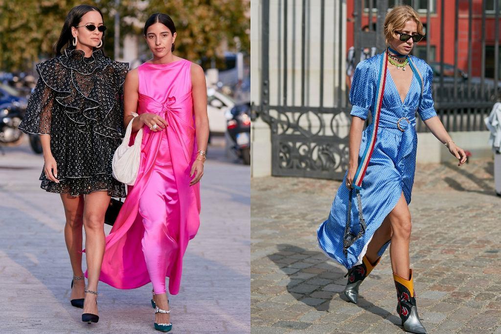 sukienki z wiązaniem