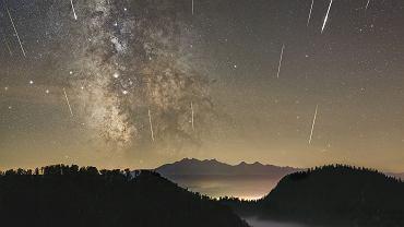 Spadające gwiazdy - sierpień