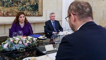 Spotkanie z Cherrie Daniels w MSZ, 6 lipca