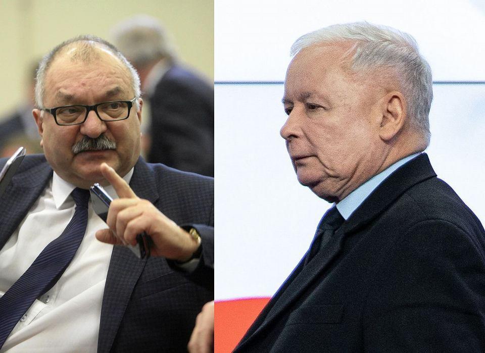 Wybory parlamentarne 2019. Cezary Przybylski i Jarosław Kaczyński
