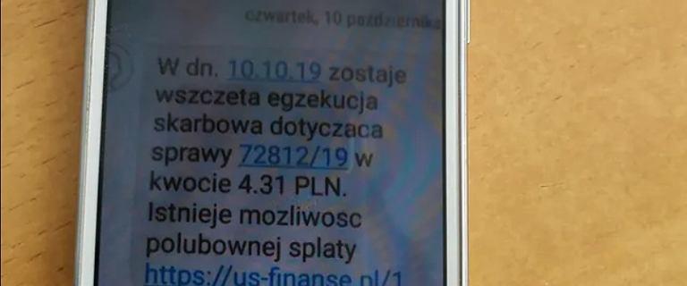 Fiskus alarmuje przed fałszywymi SMS-ami.