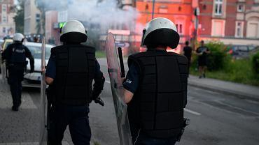 Zamieszki w Lubinie