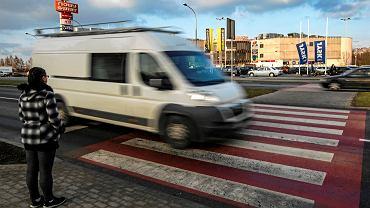 Przejście dla pieszych na ul. Krakowskiej