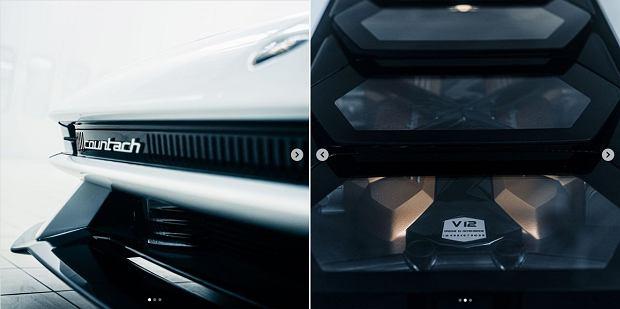 Lamborghini pokazało fragmenty nowego Countacha. Może nas czekać rozczarowanie