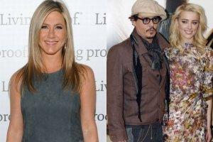 Jennifer Aniston, Johnny Depp i Amber Heard