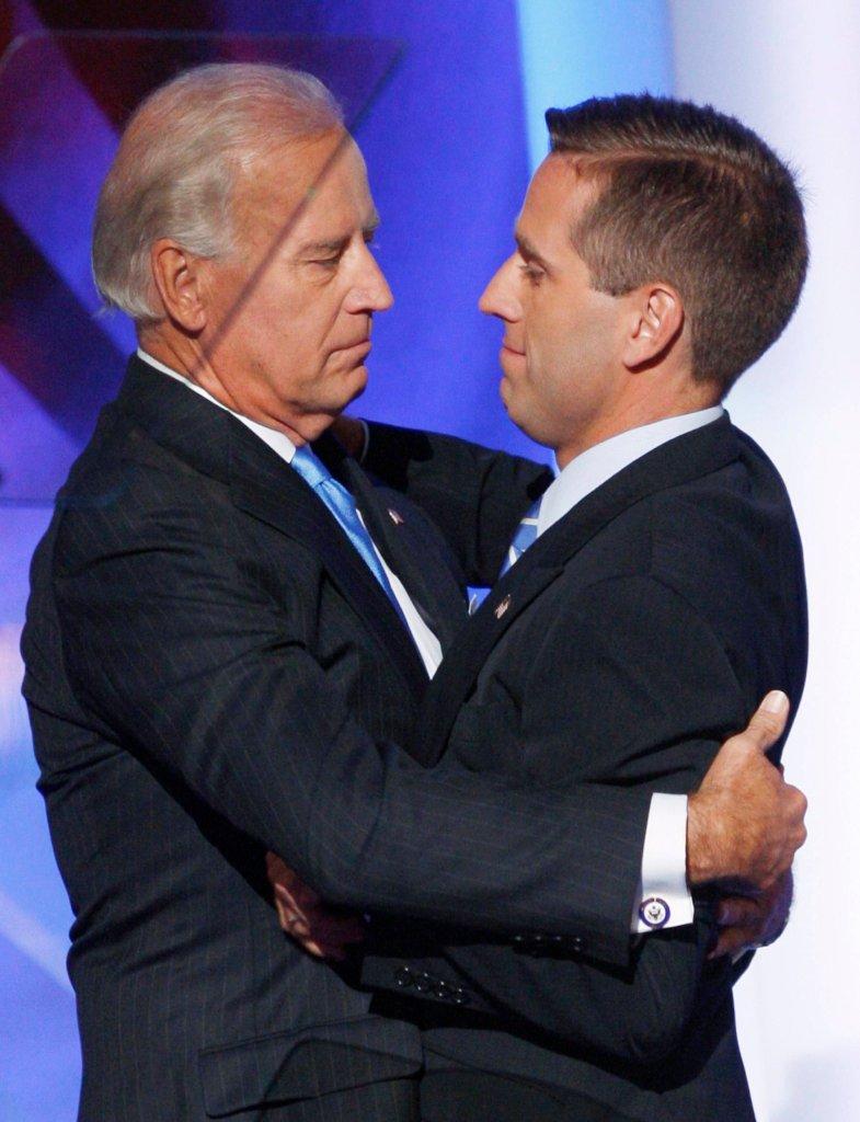 Beau Biden, syn wiceprezydenta USA Joe Bidena