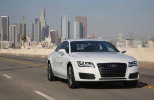 Salon Los Angeles 2014   Audi A7 Sportback h-tron quattro   Koncept na wodór