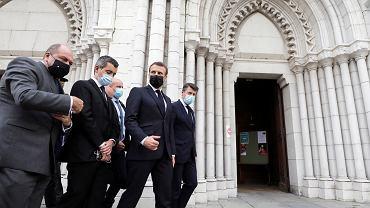 Macron: Jesteśmy atakowani z powodu naszych wartości