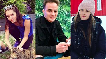 Top Model. Paulina Papierska, Patryk Grudowicz, Michalina Manios
