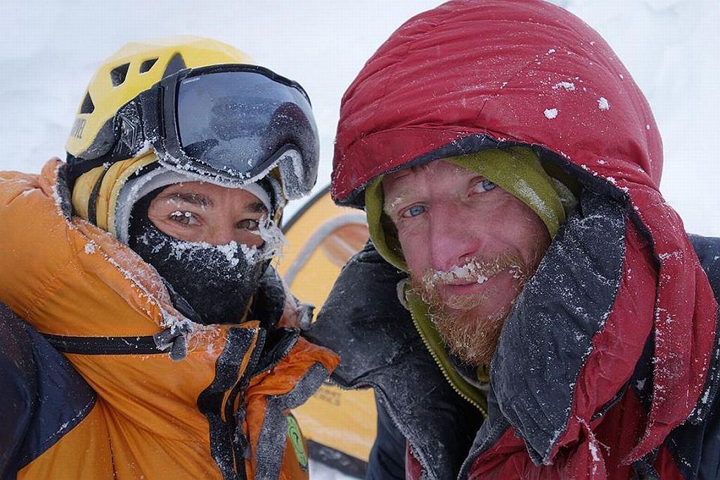 Tomasz Mackiewicz i Elisabeth Revol podczas wyprawy (fot. arch. prywatne)
