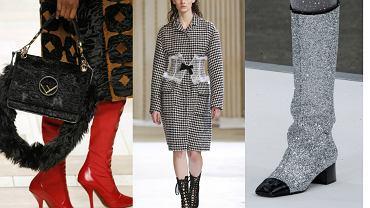 Buty na jesień - trendy z wybiegów