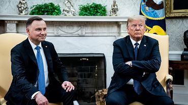 24.06.2020, Waszyngton, Andrzej Duda z wizytą w Białym Domu