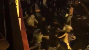 Zamieszki na ulicach Nicei