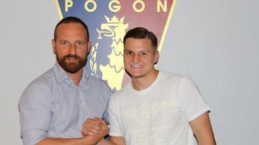 David Niepsuj został piłkarzem Pogoni Szczecin