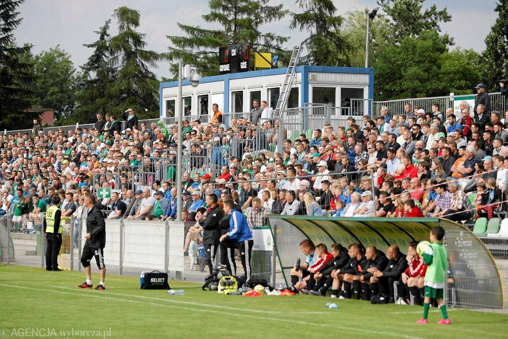 Warta Poznań - Garbania Kraków 1:0 w barażu o II ligę