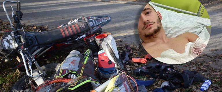 Makabryczny atak w Andrychowie. Burmistrz chce walczyć z motocyklistami