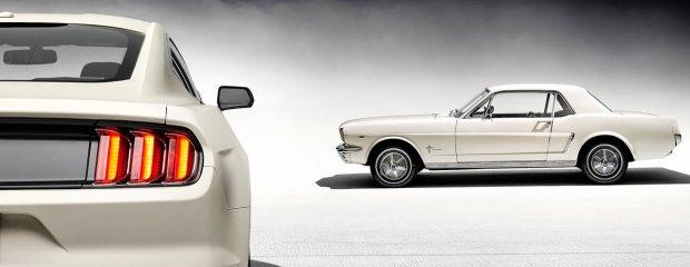 Pół wieku z Mustangiem   Historia modelu