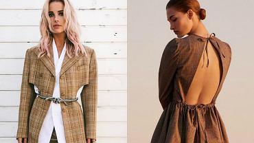 Wielki powrót kratki - modny wzór na jesień 2017