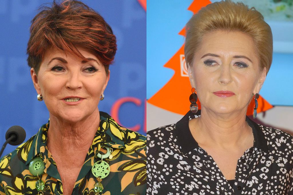 Agata Duda i Jolanta Kwaśniewska