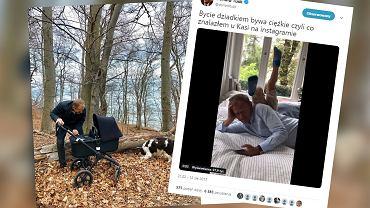 Donald Tusk został dziadkiem po raz czwarty. Na Instagramie pochwalił się swoim 'szczęściem'