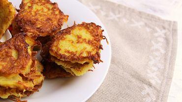 Placki ziemniaczane to kolejne tradycyjne danie kuchni polskiej.