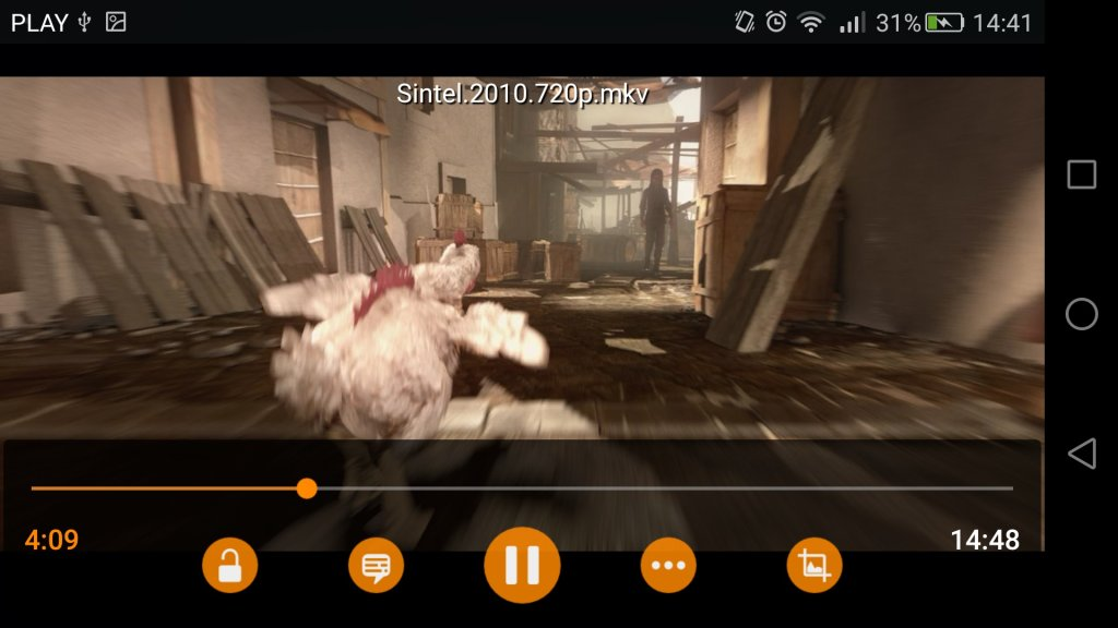 VLC Media Player 2.0 na Androida