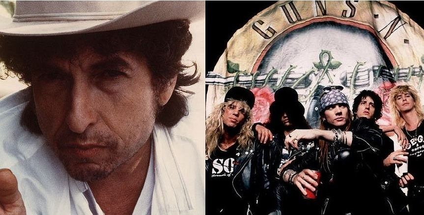 Bob Dylan czy Guns n' Roses?
