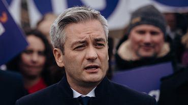 Robert Biedroń, lider partii Wiosna w Gdańsku