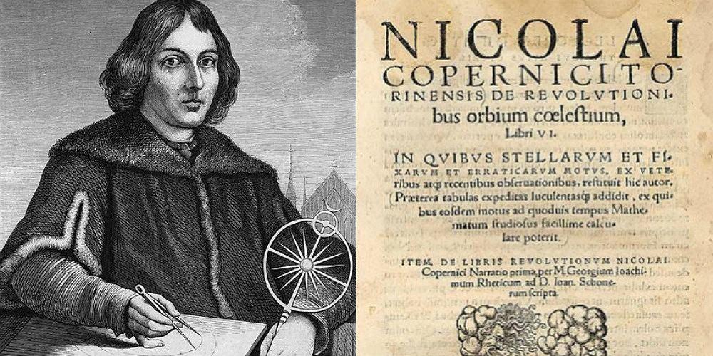 'O obrotach sfer niebieskich' Mikołaja Kopernika