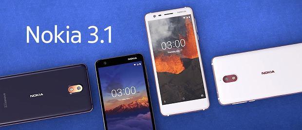 Nokia 2.1, 3.1 i 5.1 - trzy nowe smartfony Nokii