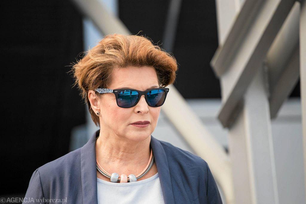 Ewa Gawor, dyrektorka biura bezpieczeństwa i zarządzania kryzysowego w stołecznym ratuszu w latach 2007-2020