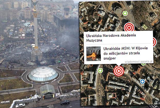Kijów Mapa