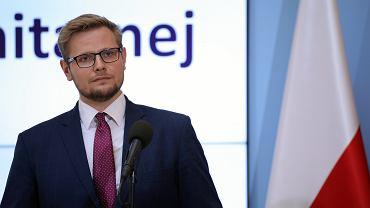Minister członek Rady Ministrów Michał Woś