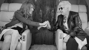 Celine Dion z matką