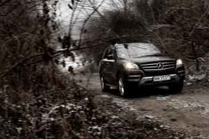 Mercedes ML 350 - test | Za kierownicą
