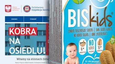 Ciastka Belkorn Biskids 6+ wycofane z polskiego rynku