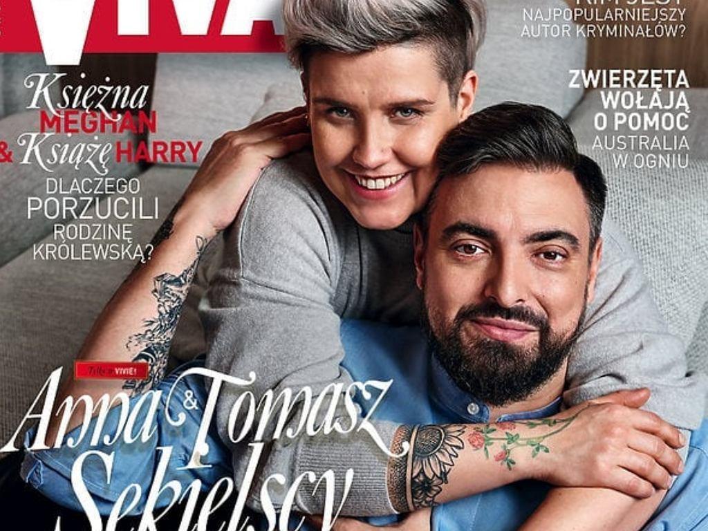 Tomasz i Anna Sekielscy w 'VIVIE!'