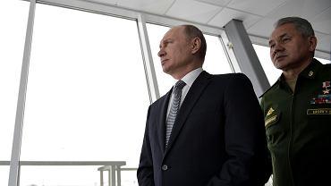 Władimir Putin, Siergiej Szojgu, 2018 r.