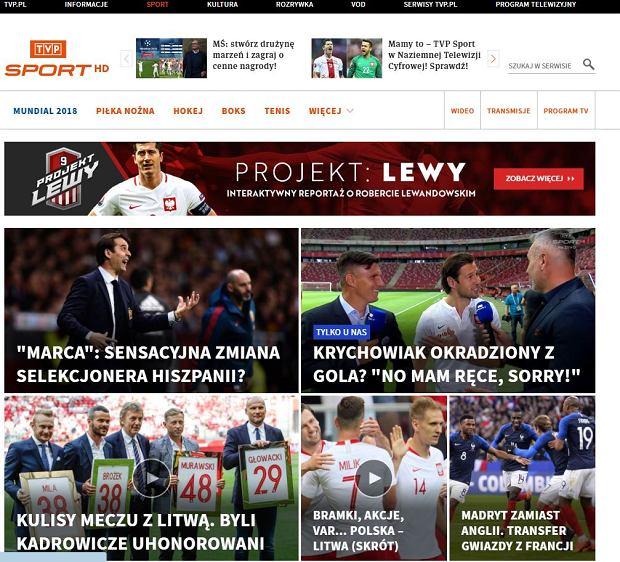 Mundial za darmo w Sport.tvp.pl