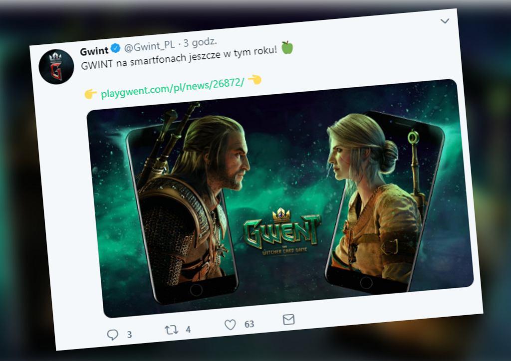'Gwint: Wiedźmińska gra karciana' trafi na smartfony. Premiera jeszcze w tym roku